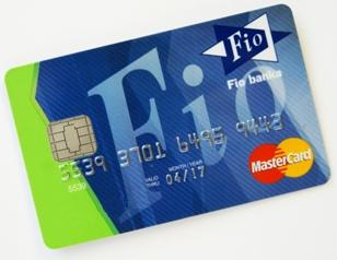Mastercard Standard Chip Payment Card Embossed Fio Bank